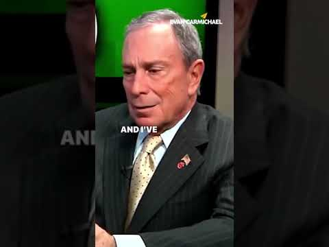 UNSUCCESSFUL People Look Back... and SUCCESSFUL People to THIS! | Michael Bloomberg | #Shorts
