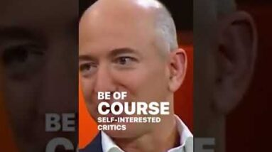 You Have to Be Willing to Be MISUNDERSTOOD! | Jeff Bezos | #Shorts